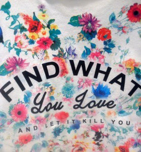 FIND WHAT LOVE seen at BERSHKA