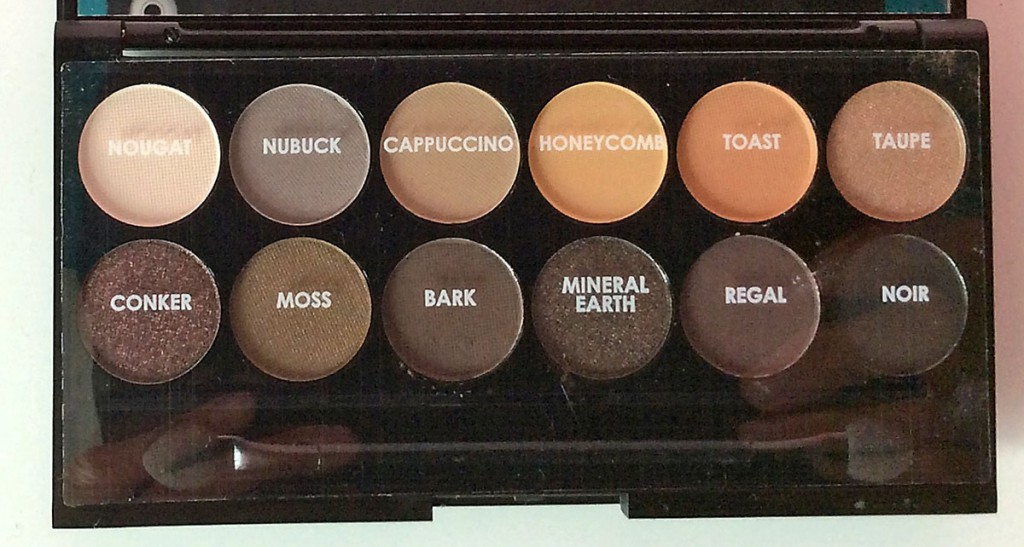 SLEEK | AU NATUREL PALETTE | DIE FARBEN