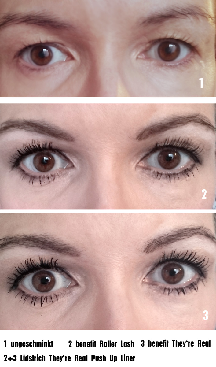 benefit Roller Lash & They're Real Mascara