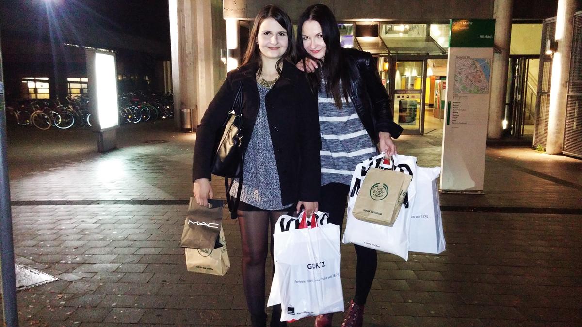 Anna & me | Back from FFM | Shopping Week Oktober 2014