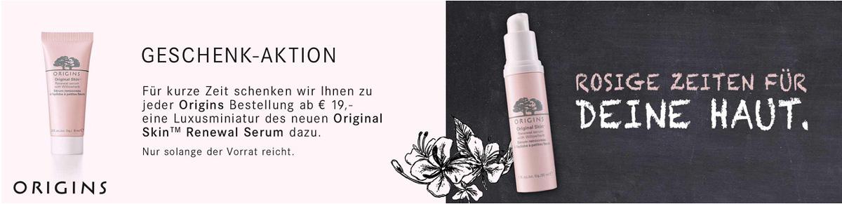 Original Skin™ Renewal serum with Willowherb   BREUNINGER AKTION