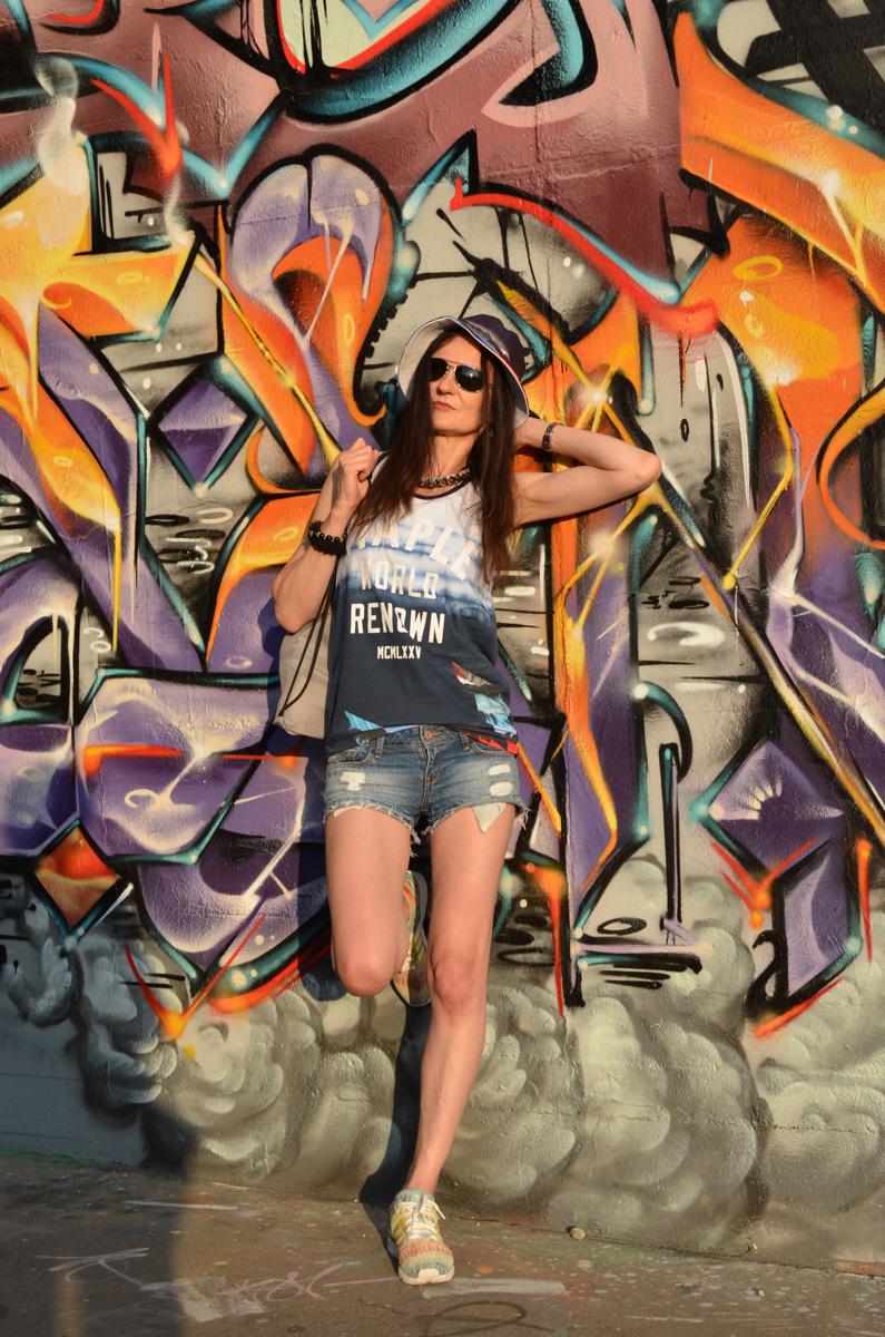 STAPLE PIGEON | COOLER STREET STYLE AUS NYC | PARADISE TANKTOP / BASKETBALL SHIRT & HAT