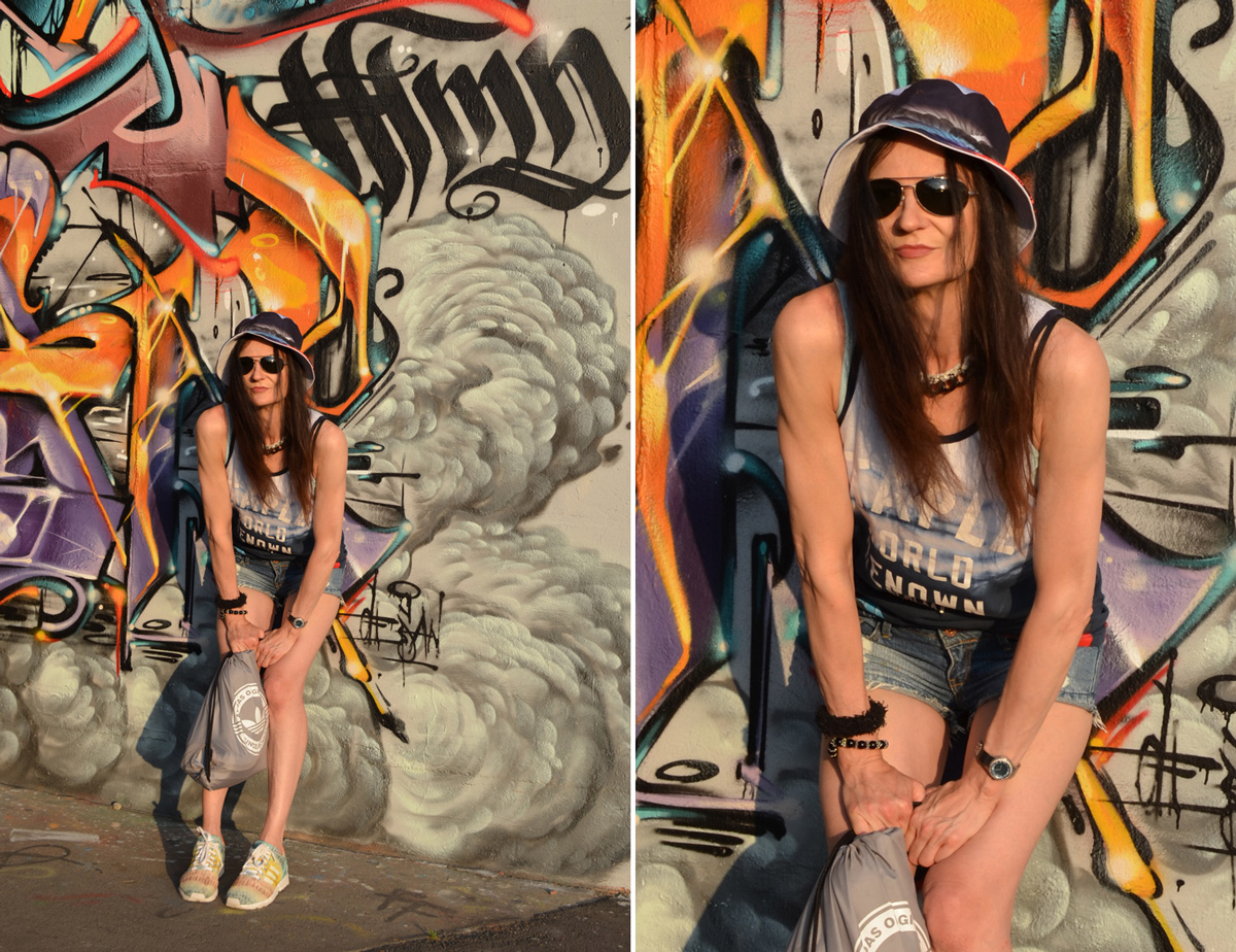 STAPLE PIGEON | COOLER STREET STYLE AUS NYC | PARADISE TANKTOP / BASKETBALL SHIRT & HAT