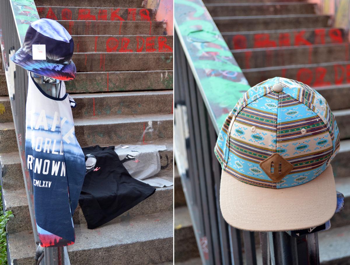 Staple Paradise  Tanktop & Staple Rizal Hat