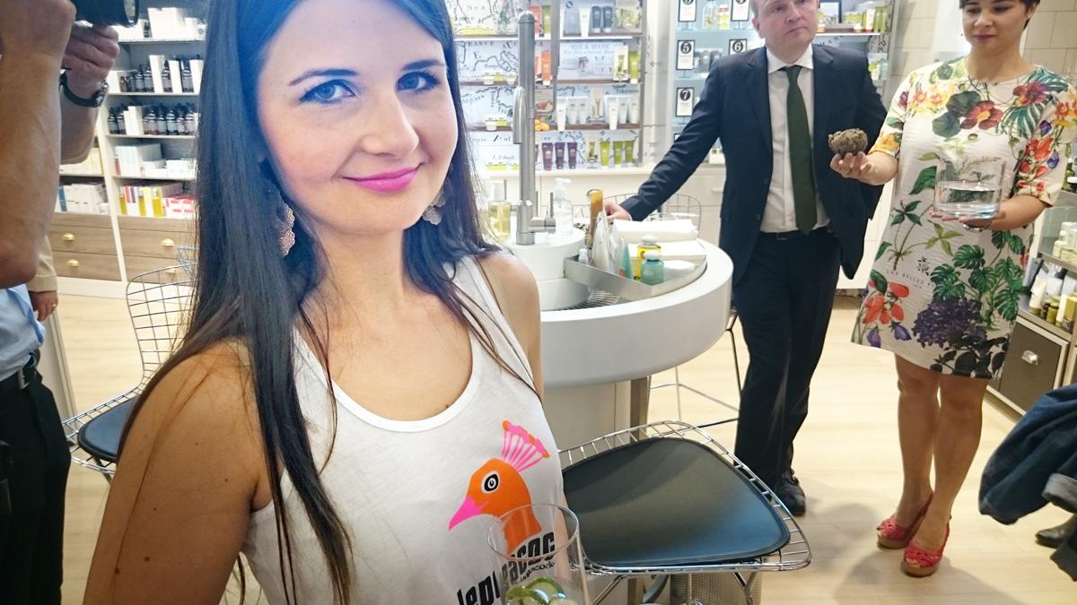 Anna beim Origins Event in Frankfurt
