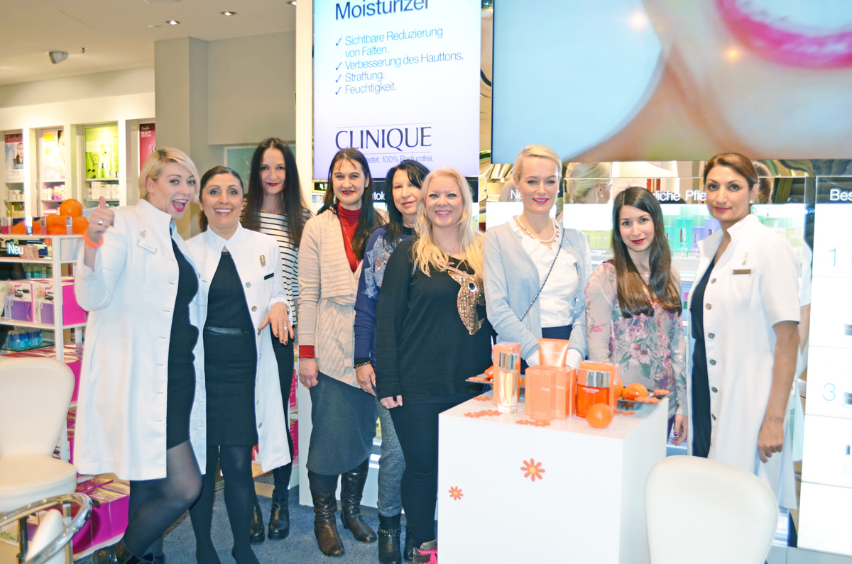 Clinique Stylepeacock Event im Douglas in Frankfurt