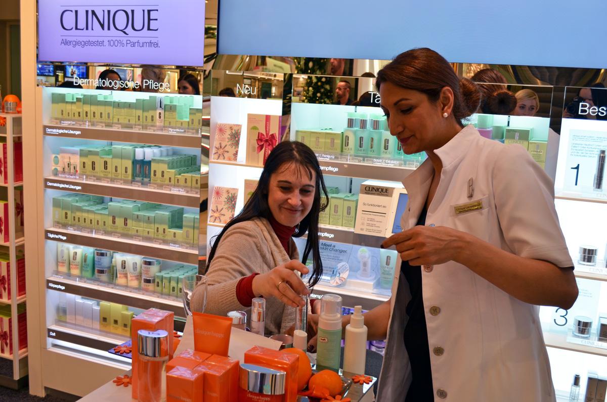 Produktberatung und Hautanalysen für alle