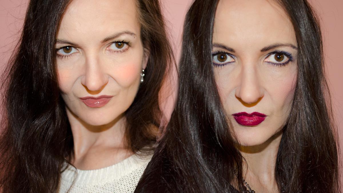 Stylepeacock mit Pop Produkten casual & im Diva-Look geschminkt