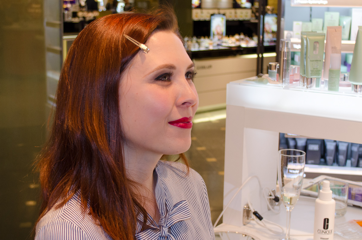 Stylepeacock Clinique Event bei Breuninger am 22.April 2016 | Power Look für Sarah