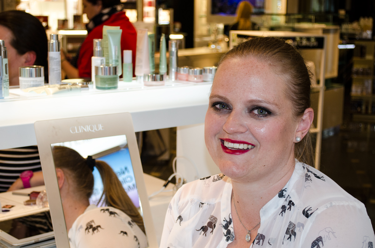 Stylepeacock Clinique Event bei Breuninger am 22.April 2016 | Power Look für Anja