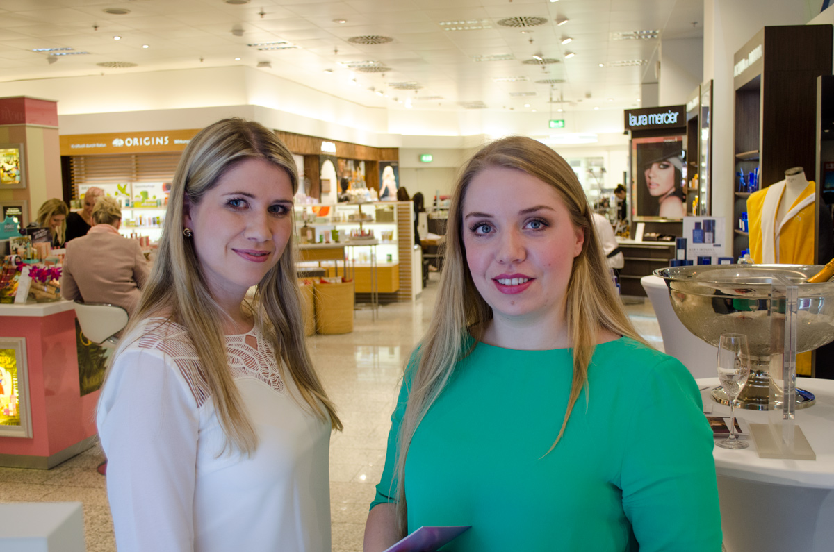 Stylepeacock Clinique Event bei Breuninger am 22.April 2016 | Wiebe und Sabrina Nude Look | Blondes have more fun :-)