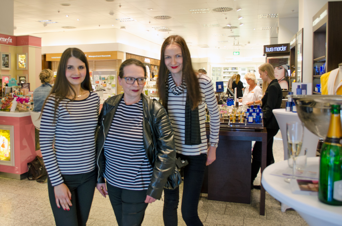 Stylepeacock Clinique Event bei Breuninger am 22.April 2016 | Bloggeruniform Striped Shjirt