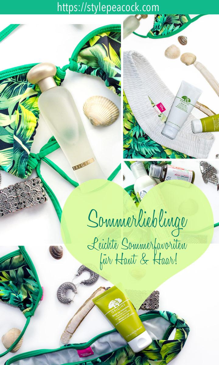 Sommerlieblinge / Sommerpflege | Leichte Beautyfavoriten für den Sommer