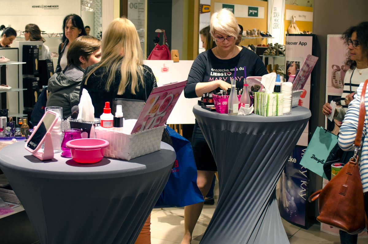 Görtz Card After Work Shopping Event in Frankfurt | Mary Kay Schminkstation