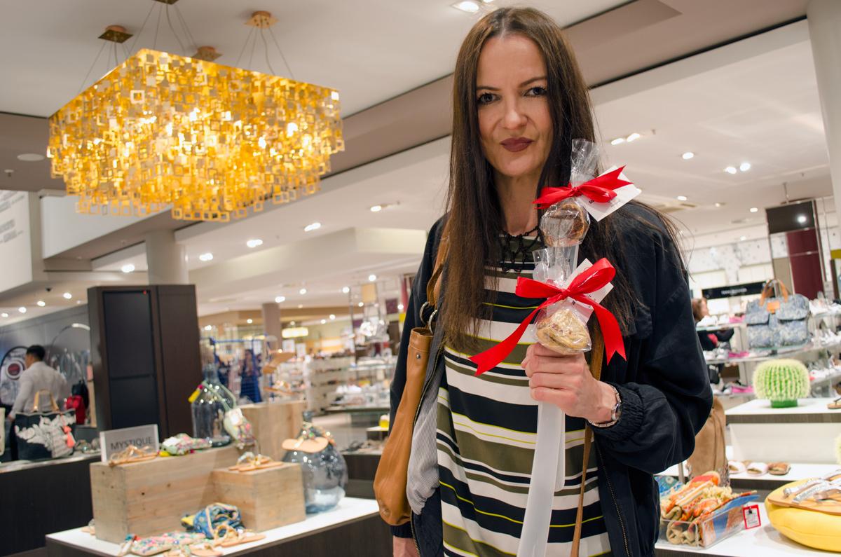 Görtz Card After Work Shopping Event in Frankfurt | Das Goodie | Schuhlöffel mit Cookies