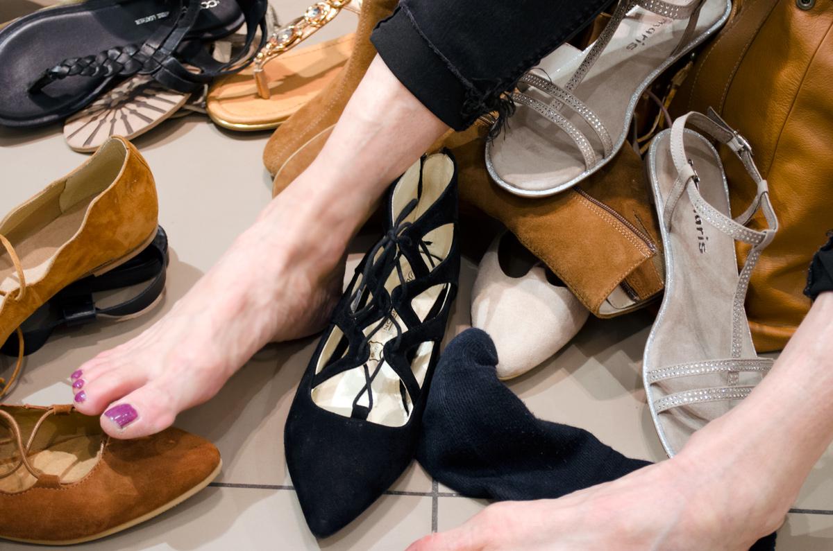 Görtz Card After Work Shopping Event in Frankfurt | Miene Ausbeute KMB Lace-Up Ballerinas & Tamaris Sandaletten