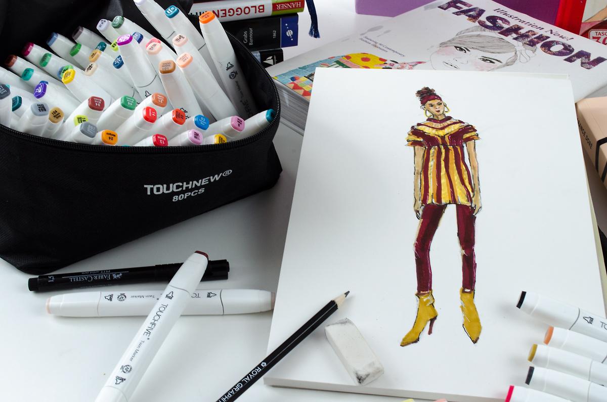 Back to Zeichenstift & Fashion-Illustration