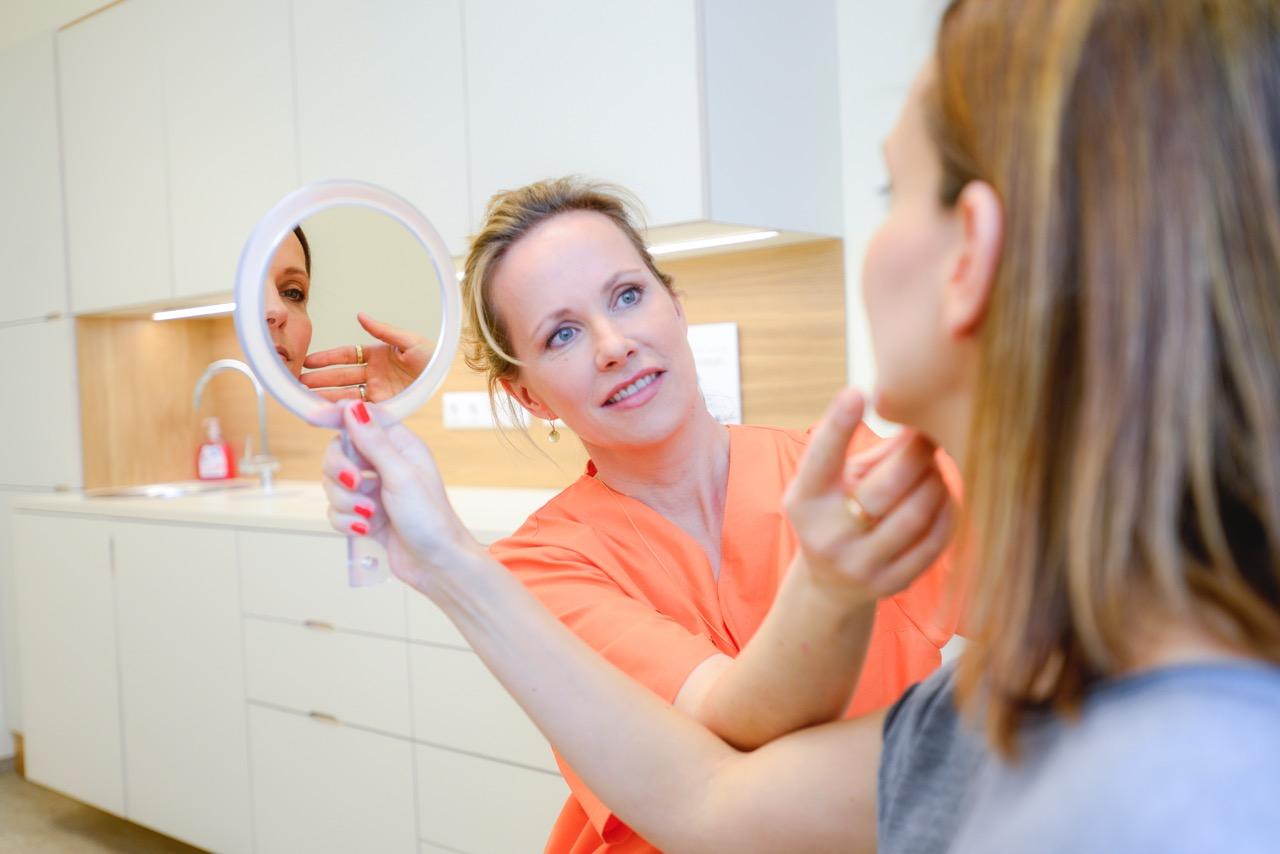 Behandlung durch Frau Dr. Julia Kasten
