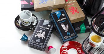 Für Nepresso geeignete Kapseln dun diverse Kaffeesorten von Café Royal