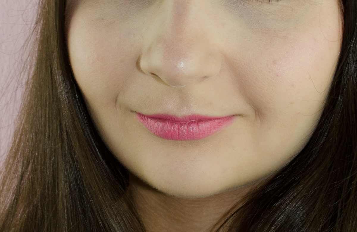 Anna's Braut-Make-up / Long Last Lipstick in Pink Petal