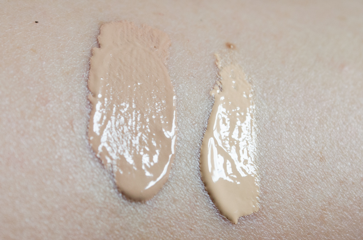 Anna's Braut-Make-up / Die Foundation Stay Matte Oil Free Make-Up in Cream Chamois und All About Eyes Concealer Light Petal