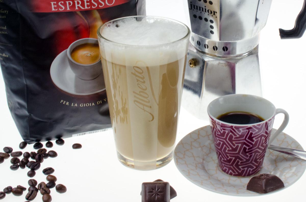 Mamma mia / Alberto Espresso von Darboven im Test / Latte Macchiato