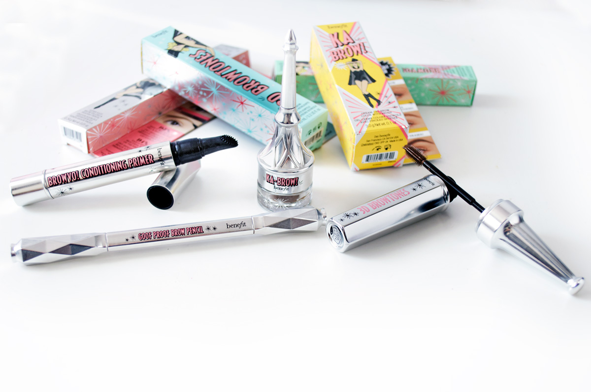 Meine Produkte der neuen Benefit Brow Collection_ Ka-Brow, Browvo!, GoofProof & 3D-Browtones