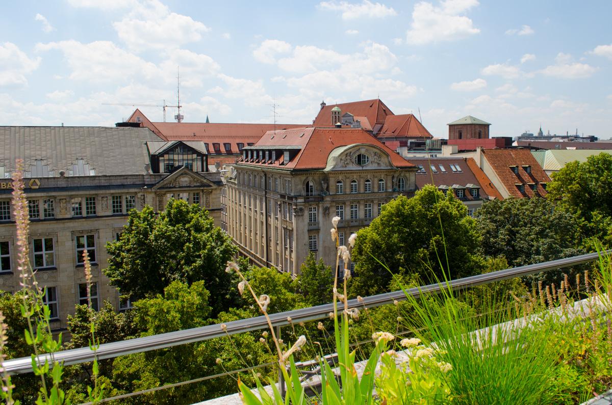 #differencemaker #dercliniqueunetrschied #cliniquemachtdenunetrschied Preevent in Munich / München Hotel Bayerischer Hof | Roftop Party Blick vom Dach