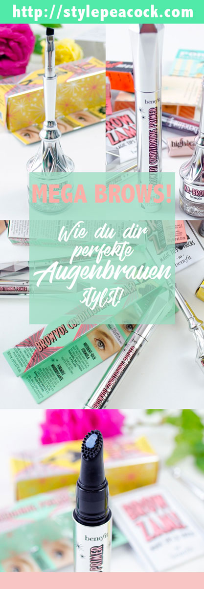 Ka-Brow, Browvo, Gimme Brow & Co | Die benefit Brow Collection für perfekte Augenbrauen