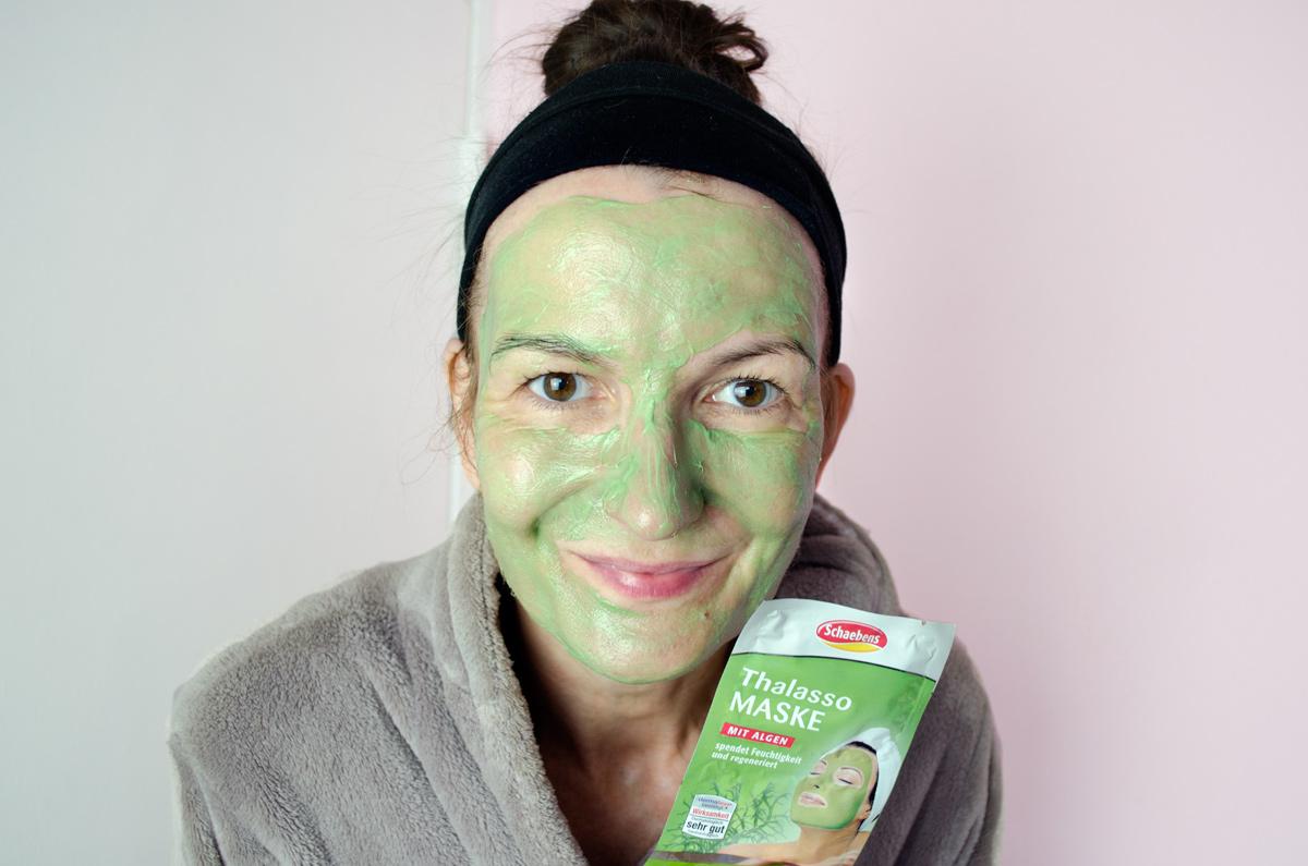 Schaebens Masken und Ampullen für alle Hauttypen & Altersstufen | Gewinne ein ganzes Schaebens Paclk voll mit Masken & Konzentraten | Stylepeacock, de Frosch mit der Maske | Thalasso Maske