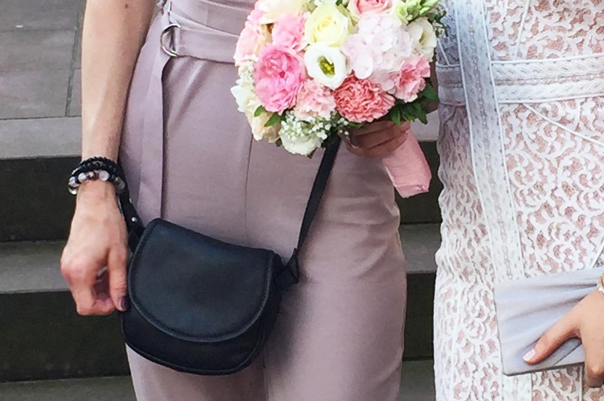 Anna s Hochzeit | Minibag in Schwarz