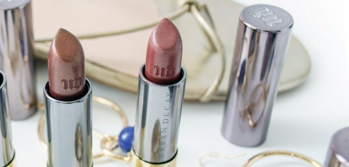 Urban Decay Vice Lipstick | Backdoor & Conpsiray Metallized
