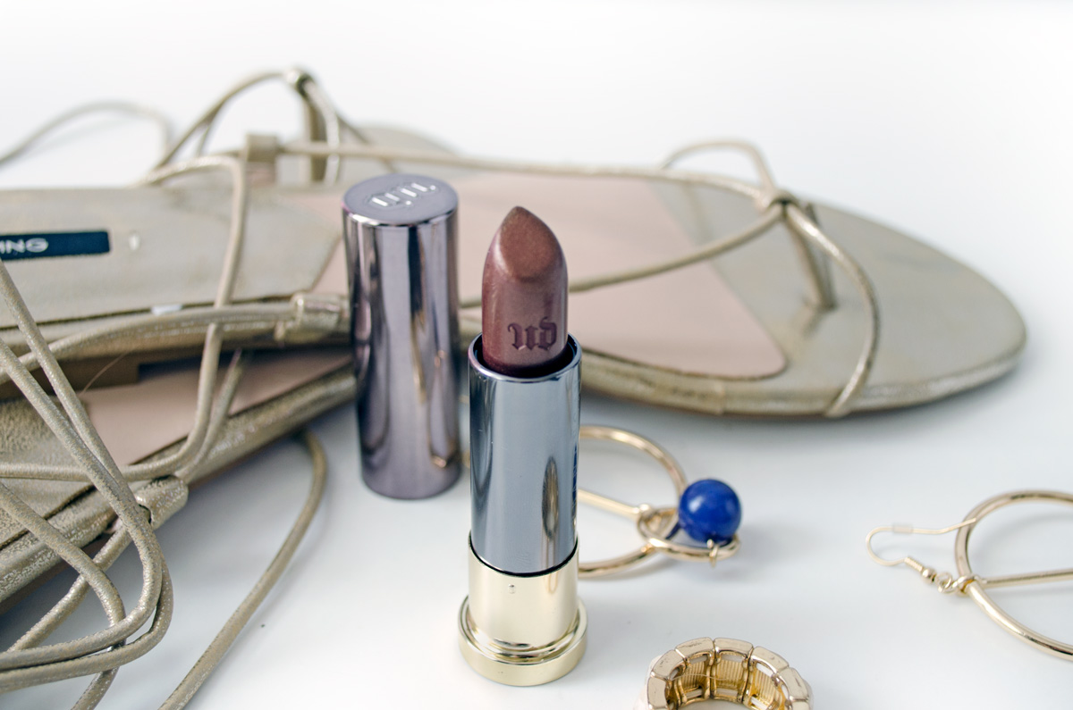 Urban Decay Vice Lipstick | Conspiracy Metallized