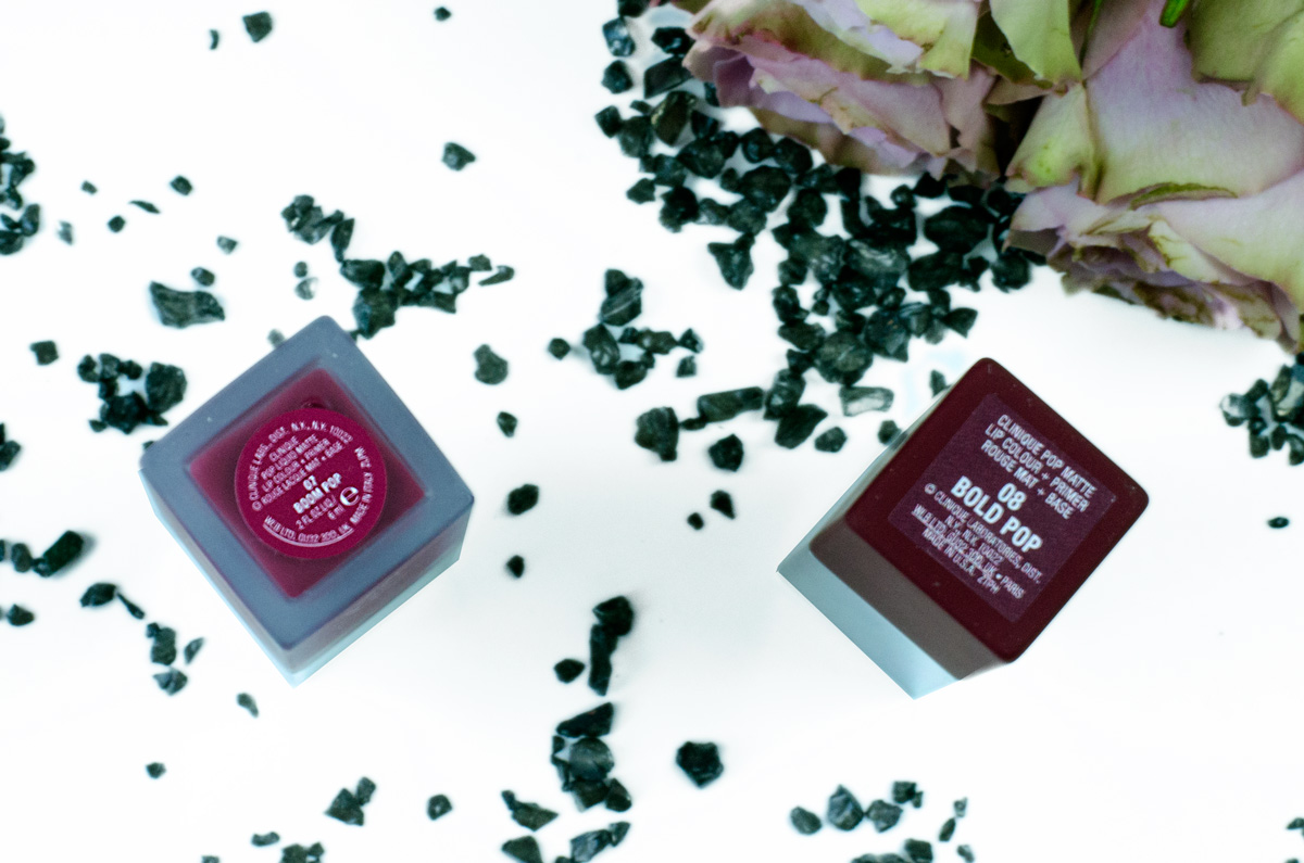 Clinique Pop Matte Lip Colour + Primer | Black Licorice Liquid Boom & Bold Pop