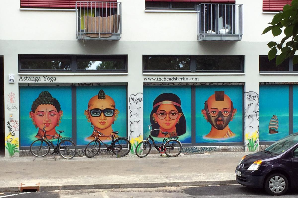 Wand in Kreuzberg