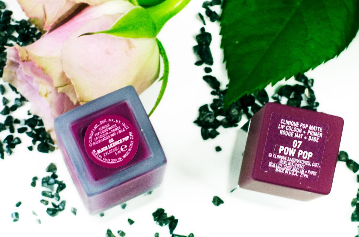 Clinique Pop Matte Lip Colour + Primer | Black Licorice Liquid Pop & Pow Pop