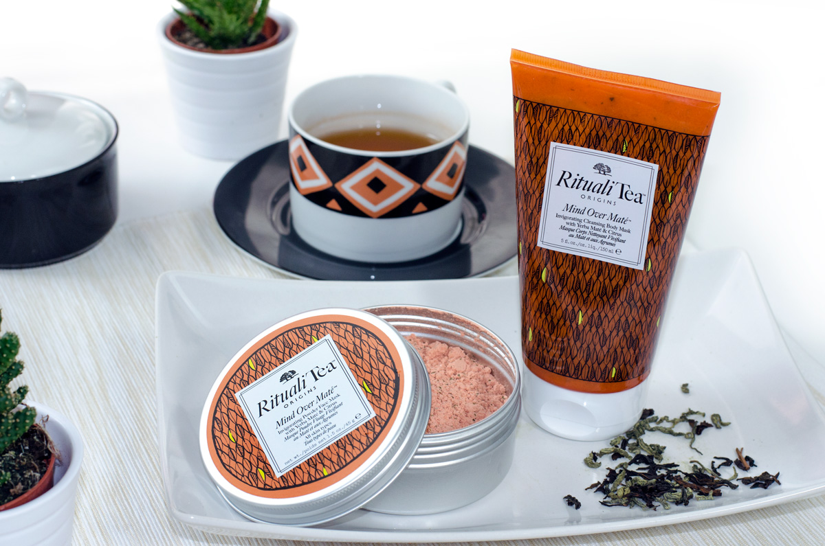 Origins RitualiTea™ Powder Face Masks und Cleansing Body Masks | MIND OVER MATE™ WITH YERBA MATE & CITRUS