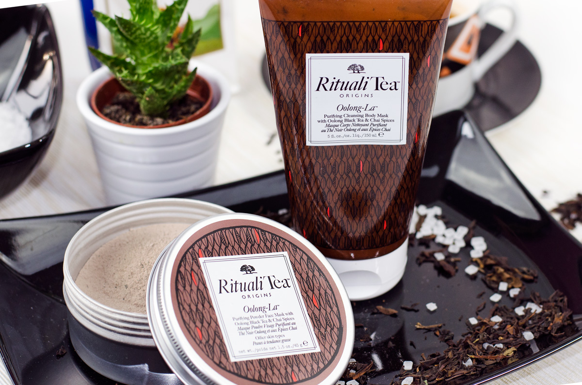 Origins RitualiTea™ Powder Face Masks und Cleansing Body Masks | OOLONG -L A™ WITH OOLONG BLACK TEA & CHAI SPICES