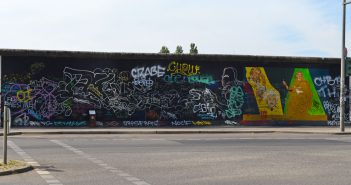 Greetings from the Eastside Gallery in Berlin