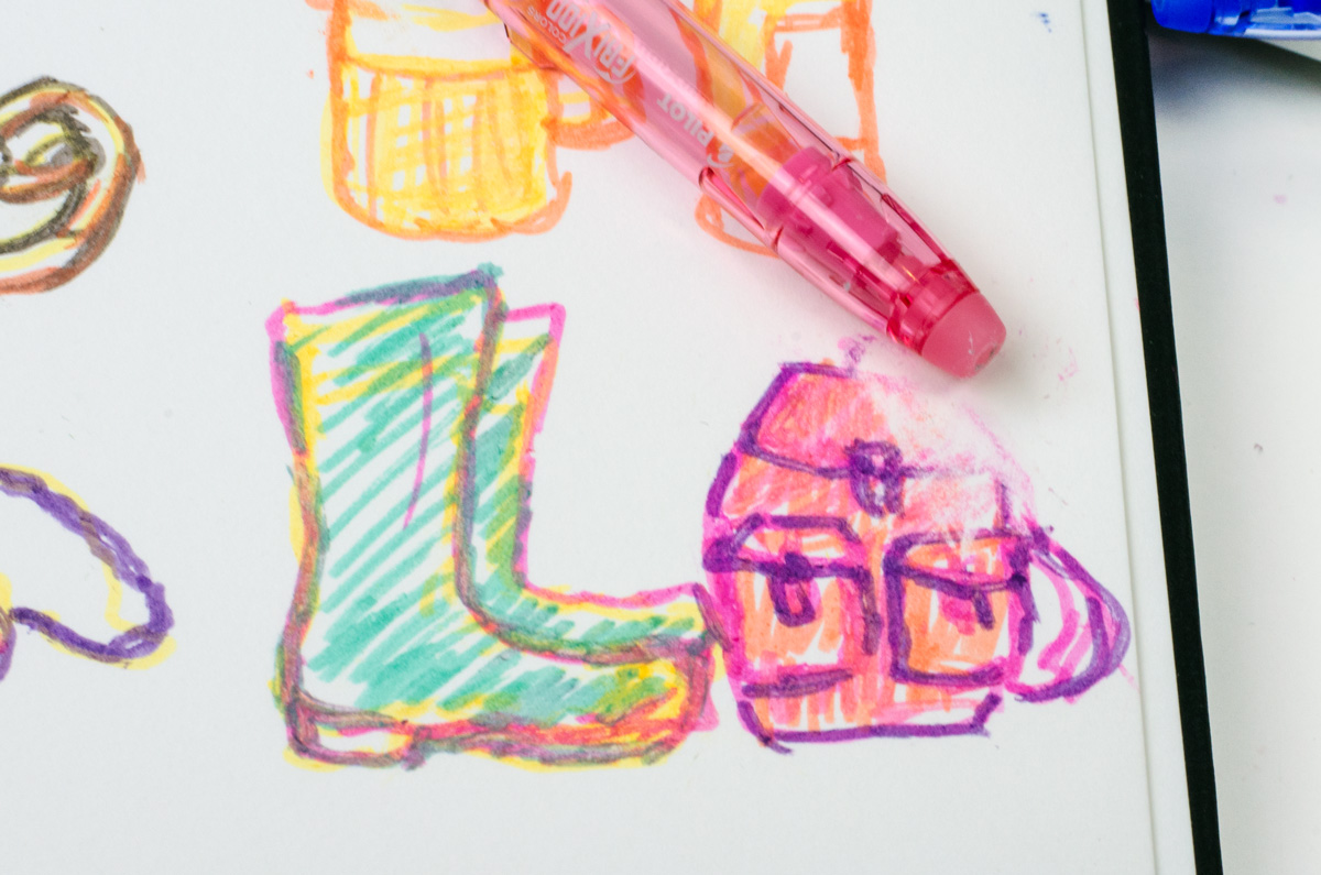 Pilot Pen Frixion Color | Radierbare Filzstifte