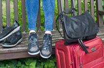 Umhänge-Tasche Greenwich und Sneaker Rom by ara Shoes