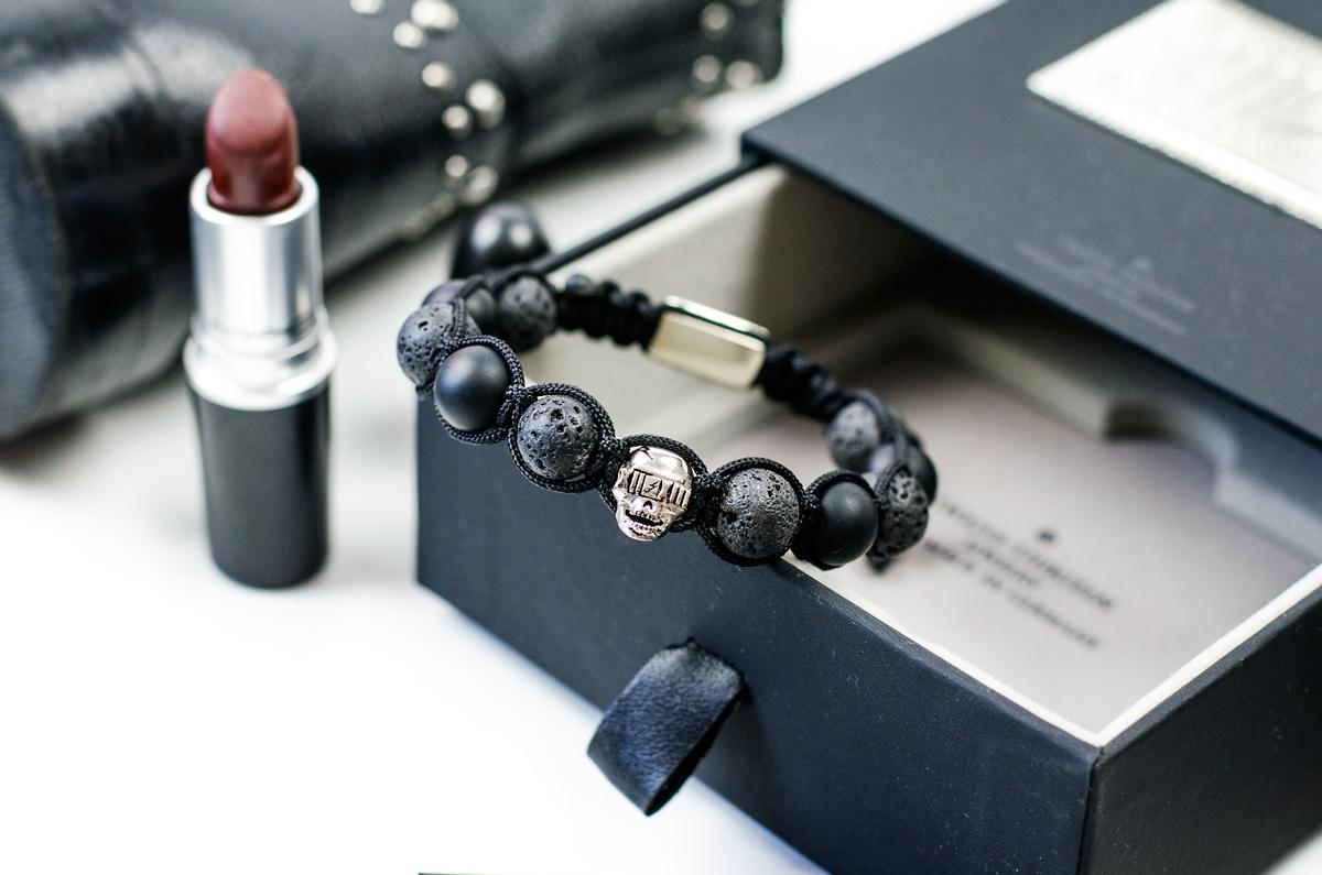 Twelve Thirteen Jewelry Skull Silber Hunter Armband