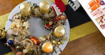 1. Advent | Adventskranz, Memories & Gewinnspiel