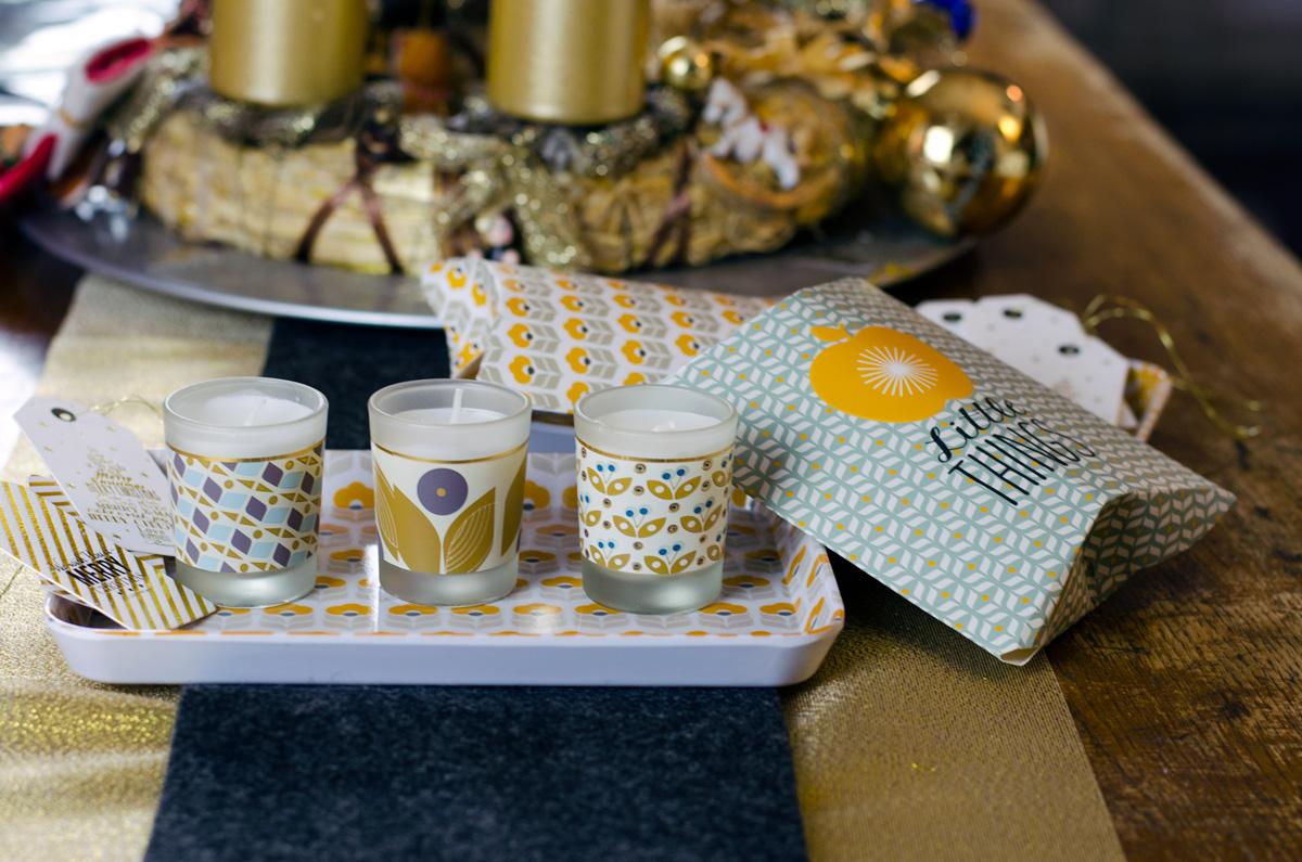 Weihnachtliche Geschenktüten, -boxen und Verpackungen bei Maisons du Monde