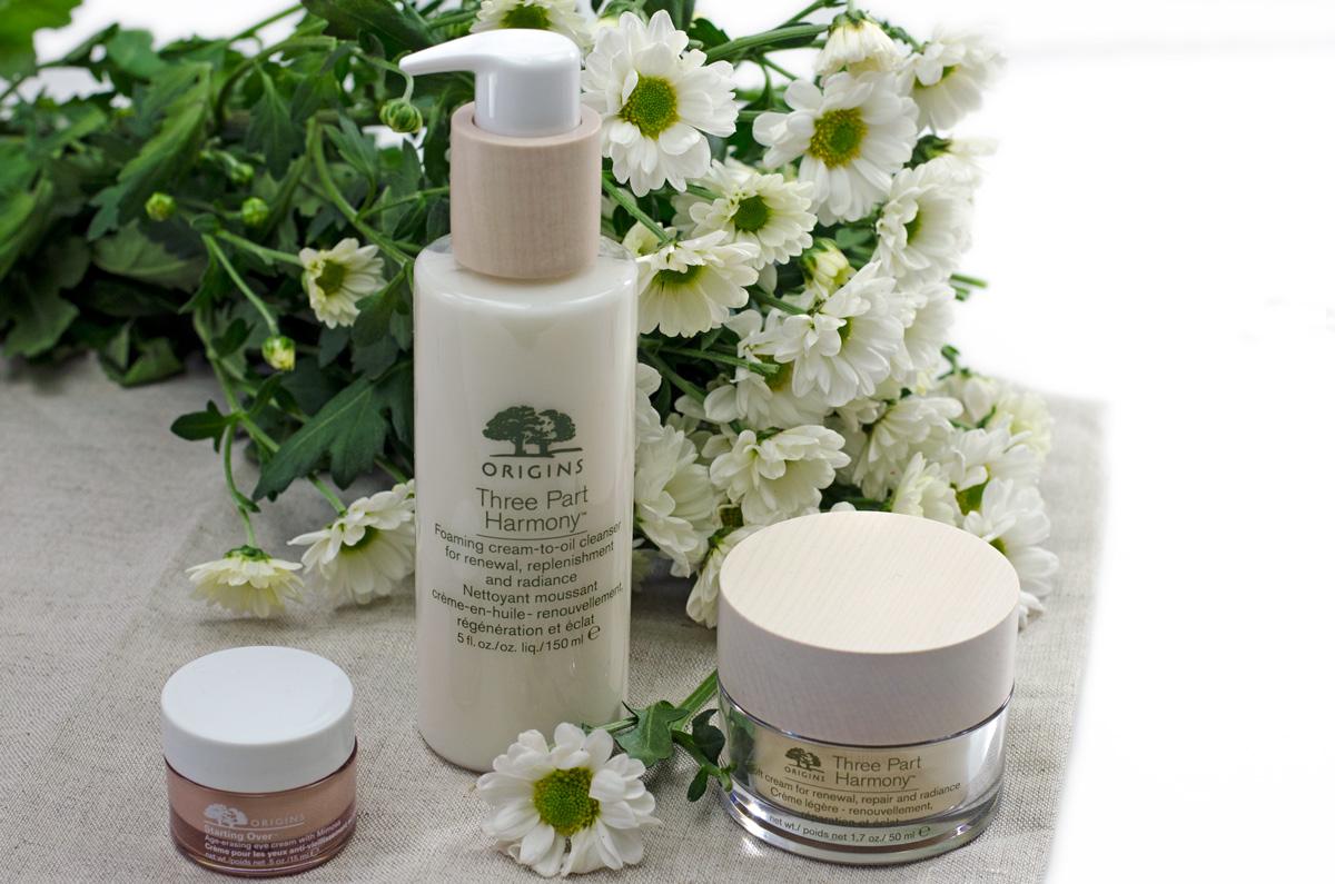 Origins Three-Part Harmony™ | Gesichtspflege Ü50 | Foaming Cream-To-Oil Cleanser