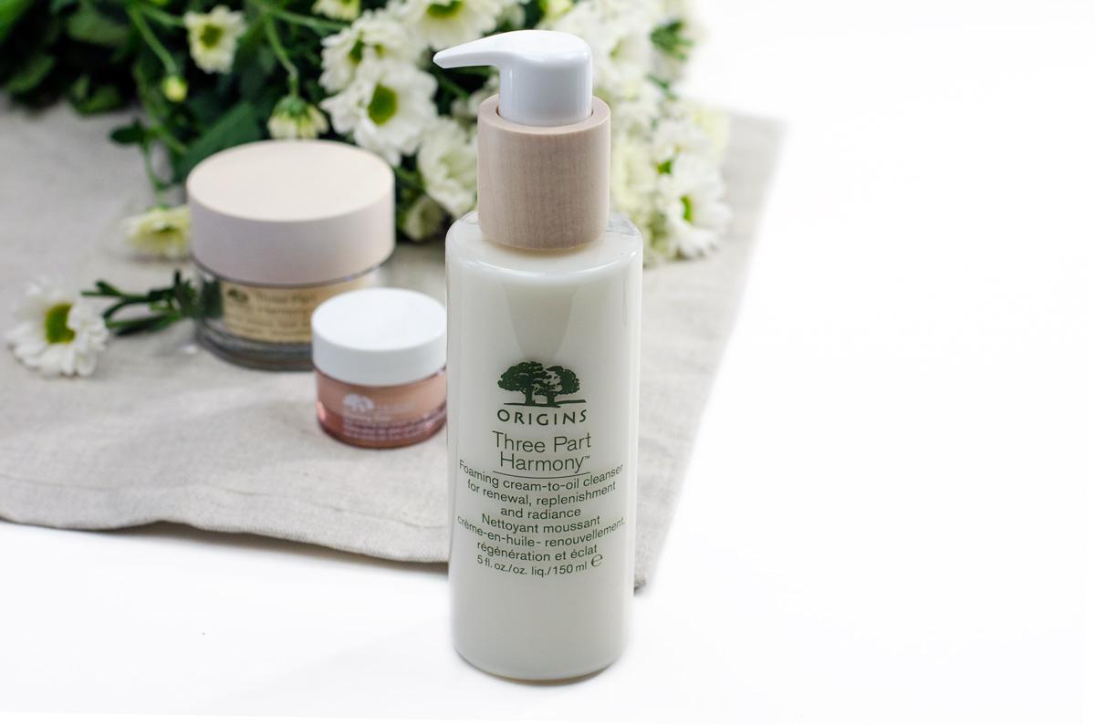 Origins Three Part Harmony™ | Gesichtspflege Ü50 | Foaming Cream-To-Oil Cleanser