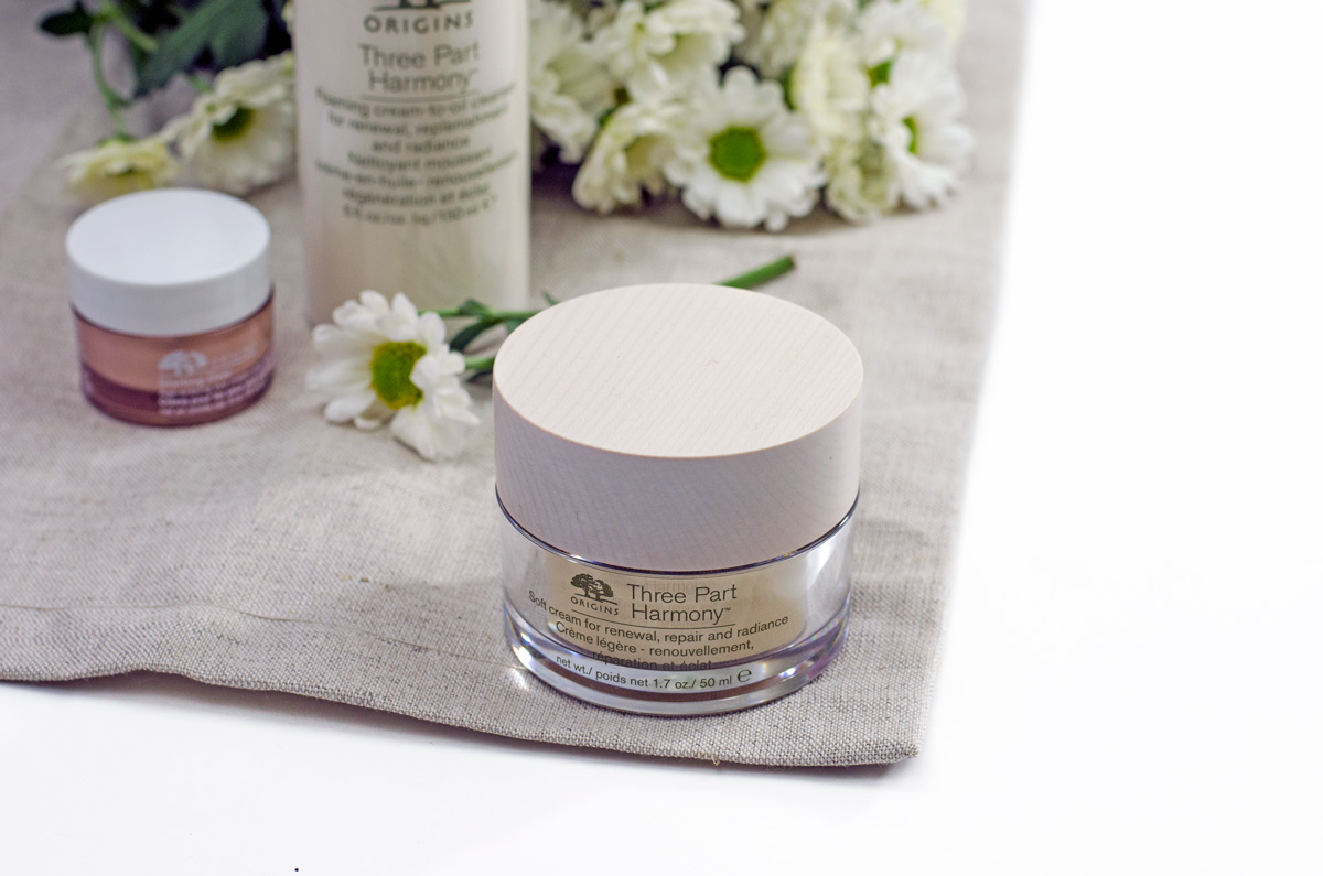 Origins Three Part Harmony | Gesichtspflege Ü50 | Soft Cream For Renewal, Repair and Radiance