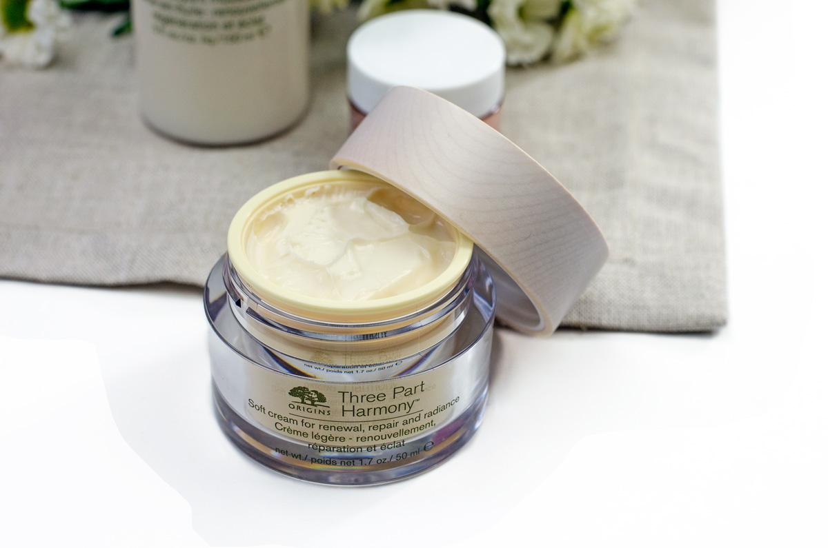 Origins Three- Part Harmony | Gesichtspflege Ü50 | Soft Cream For Renewal, Repair and Radiance