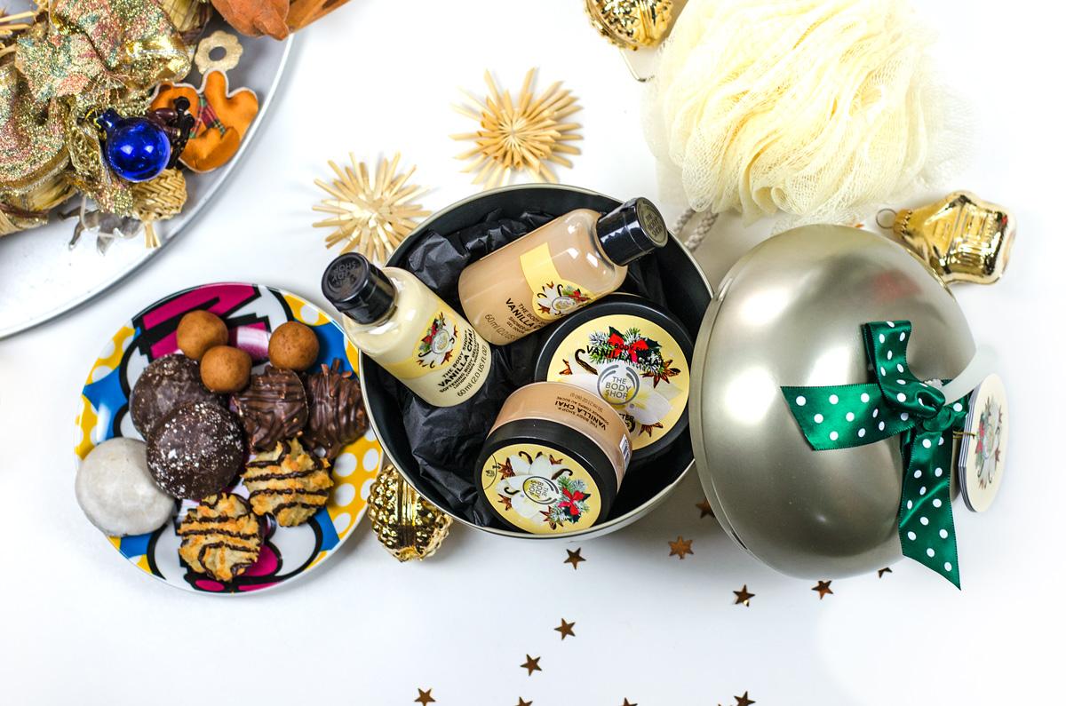 Weihnachtliche Beautysets von TBS The Body Shop | VANILLA CHAI FESTIVE TIN