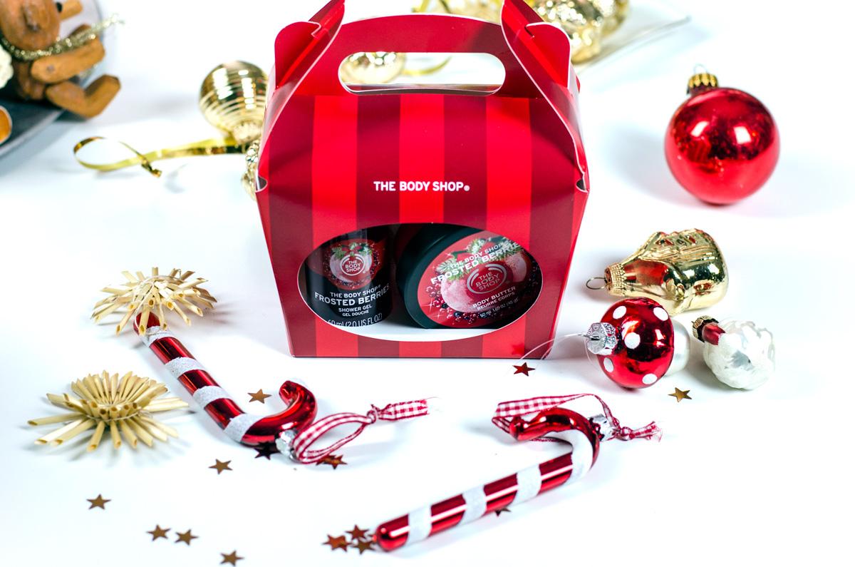 Weihnachtliche Beautysets von TBS The Body Shop   FROSTED BERRIES TREAT BOX